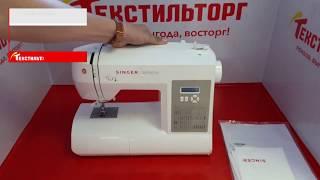 Обзор швейной машина Singer Brilliance 6180