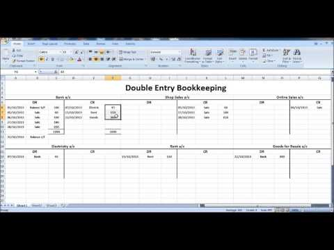 Free Online Bookkeeping Course #9 - Closing T Accounts - YouTube