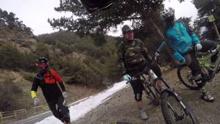 preview picture of video 'Benny beim Endura MT500 Test in Latsch'