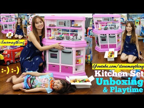 Kitchen Playset Unboxing Parksidetraceapartments