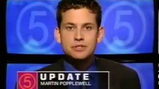 Channel 5 News & Continuity - 15th August 1999