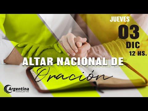 Altar Nacional de Oración | Jueves 03 de diciembre 2020
