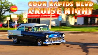 SUNSET CAR CRUISE!!! - Hundreds Of Classic Cars - Muscle Cars - Trucks - Hot Rods, Rat Rods!