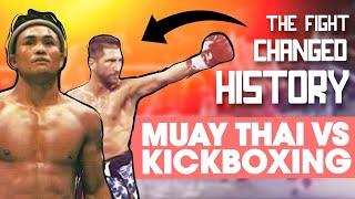 Muay Thai vs. Kickboxing: The Legendary Fight That Changed History