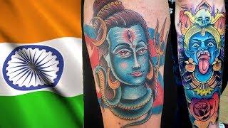 Beautiful Traditional Indian Tattoo Designs   Top Indian Tattoo