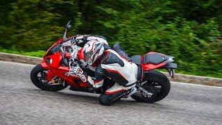 Top Speed, Wheelies, Dragging Knee - MaxWrist BMW S1000RR Full Throttle