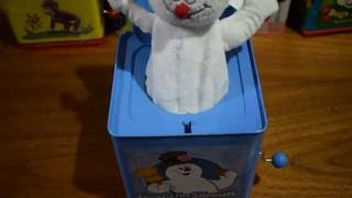 FROSTY THE SNOWMAN JACK IN THE BOX SNOW MAN