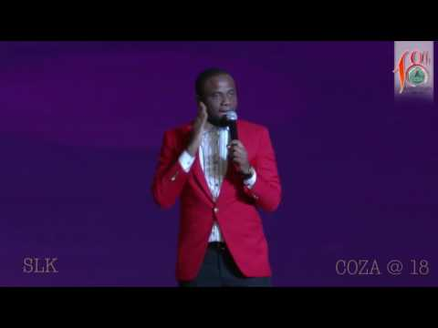 Comedian SLK's awesome performance at Coza Abuja
