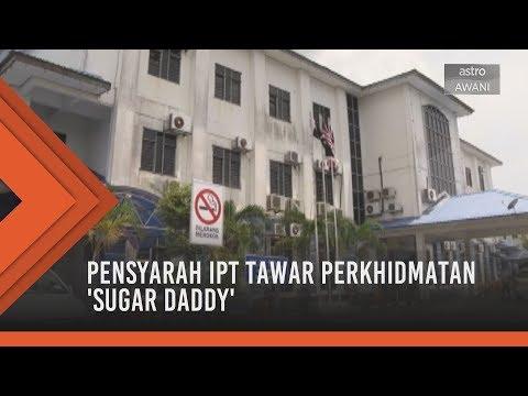 Pensyarah IPT tawar perkhidmatan 'Sugar Daddy'