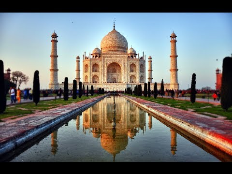 Pierwszy na świecie 360-stopniowy Taj Mahal (HYPERLAPSE)