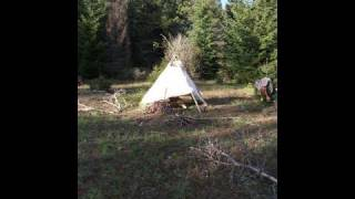 Survival Tipi Shelter