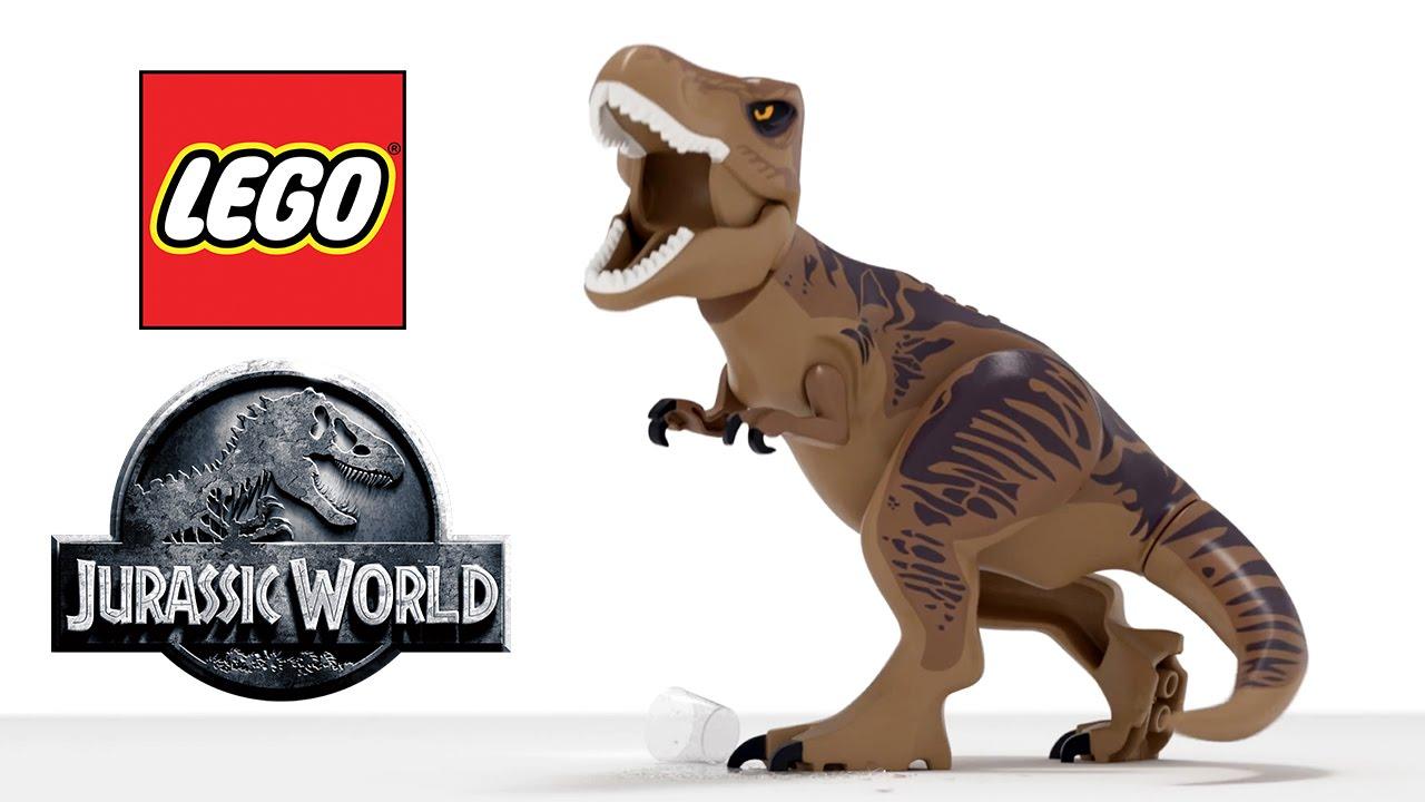 LEGO Jurassic World Trailer (PS4 / Xbox One) #VideoJuegos #Consolas