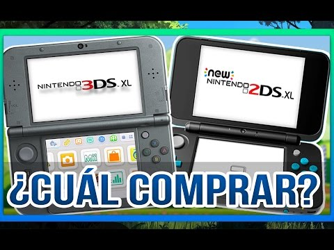 ¿NEW NINTENDO 2DS XL O NEW NINTENDO 3DS XL? | ¿Cuál comprar?