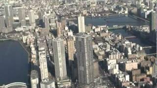 東京スカイツリーヘリ空撮