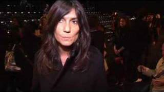 Emmanuelle Alt On F/W 08 Part 6
