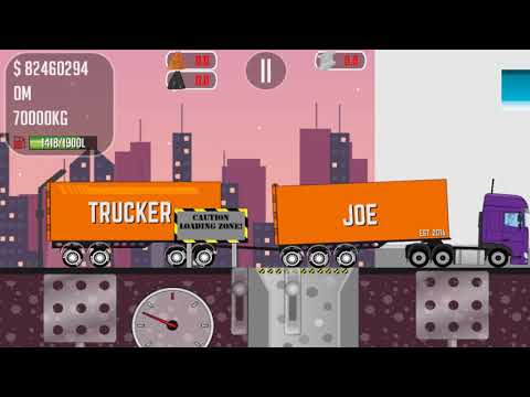 Trucker Joe is transporting bauxite to an aluminum plant