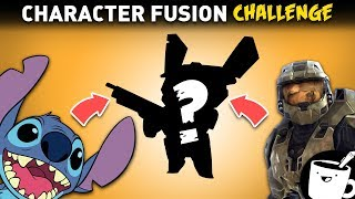 Character Fusion Drawing Challenge