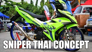 Modifikasi Satria Fu Suzuki Raider 150 Best Thai Concept