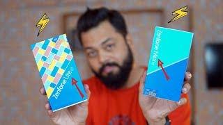 ASUS ZENFONE MAX M1 & ASUS ZENFONE LITE L1 - Unboxing, Gaming Performance, Camera & Features