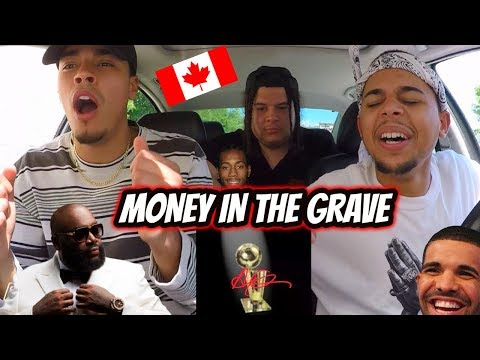 DRAKE - MONEY IN THE GRAVE (FT RICK ROSS) REACTION REVIEW