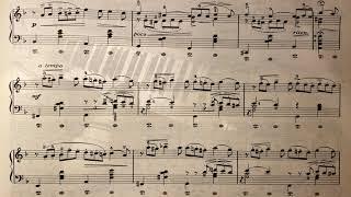 차이코프스키 - 10월: 가을노래 - 피아노악보(쓸쓸한 마음을 더 후벼파는..)