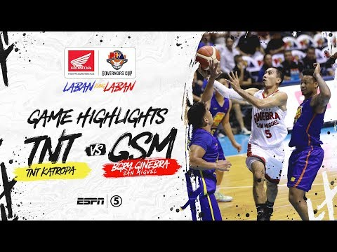 [Sport5]  Highlights: TNT vs Ginebra | PBA Governors' Cup 2019