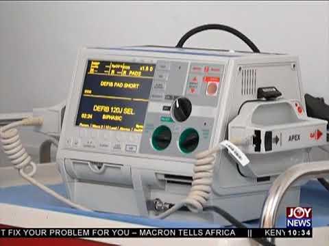 Defibrillator At The Gym - News Desk on JoyNews (4-7-18)