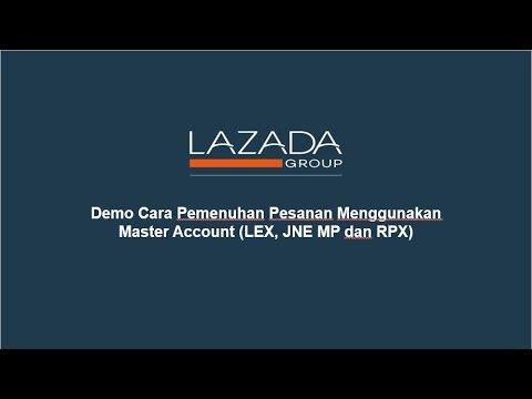 Demo Cara Pemenuhan Pesanan Menggunakan Master Account (LEX, JNE MP, RPX dan SiCepat)