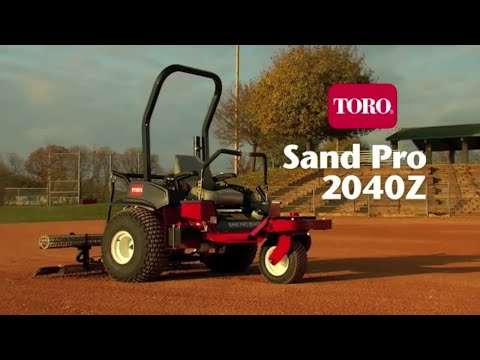 Toro® Sand Pro® 2040Z Infield Groomer
