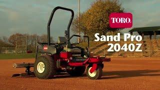Toro Sand Pro 2040Z Infield Groomer