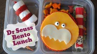 Dr Seuss Bento Lunch