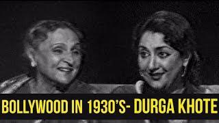 Bollywood Before Independence | Durga Khote | Tabassum Talkies