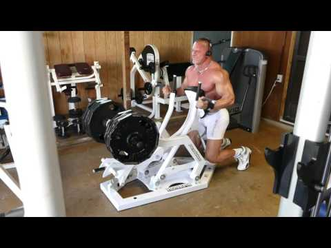 Rogers 3 way Seated Row... Underhand grip 8 pack...