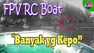 FPV Rc Boat on Deck Camera I Rc Boat Palembang #fpvrcboatondeckcamera #fpvrcboat #rcboatpalembang