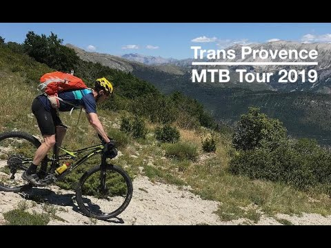 Gap to Monaco in 6 days by mountainbike using the TransProvence route.