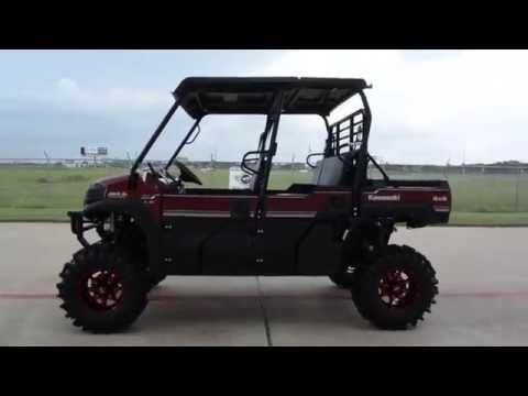 2016 Kawasaki Mule Pro-FXT EPS LE in La Marque, Texas - Video 1