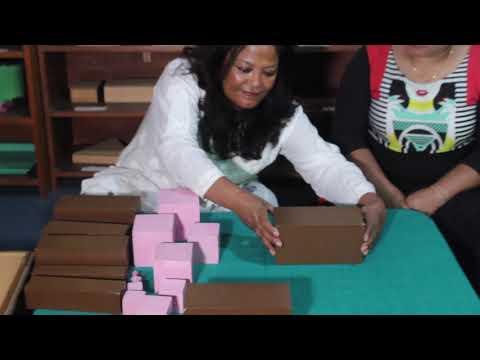 Montessori Training online demonstration
