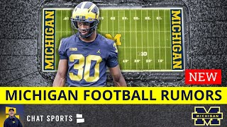 "Michigan Football Rumors On Daxton Hill's Eye, Josh Gattis ""Won't Let Up"", Roman Wilson Starting WR?"
