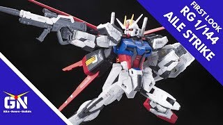 First Look & Lore: RG 1/144 Aile Strike ( Custom Paint Deactivated Mode)