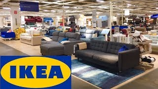 IKEA SHOP WITH ME FURNITURE SOFAS ARMCHAIRS KITCHENS HOME DECOR SHOPPING STORE WALK THROUGH 4K