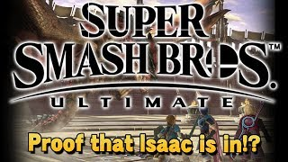 Proof that Isaac is in? - Super Smash Bros. Ultimate!