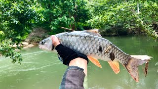 Big stream fishing is very interesting