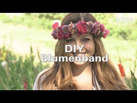 Blumen-Haarband selber machen - DIY mit ANTENNE BAYERN