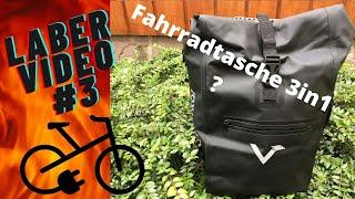 """Laber Video #3 Thema:  Valkental  """"ValkOne 3in1 Fahrradtasche"""""""