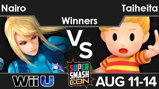 SSC16  - Liquid`Nairo (ZSS) vs Taiheita (Lucas) Winners - Smash 4