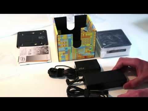 Intel NUC5i3RYH Unboxing and Assembly - i5-5200U