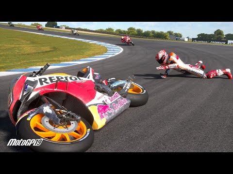 MotoGP 19 Crash Compilation