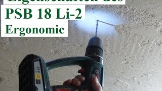Bosch PSB 18 Li 2 Ergonomic Unboxing & Test