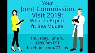 Facebook Live: Your 2019 Joint Commission Visit: What to Expect