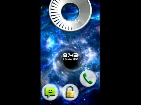 Video of Animated  3D Locker Lockscreen
